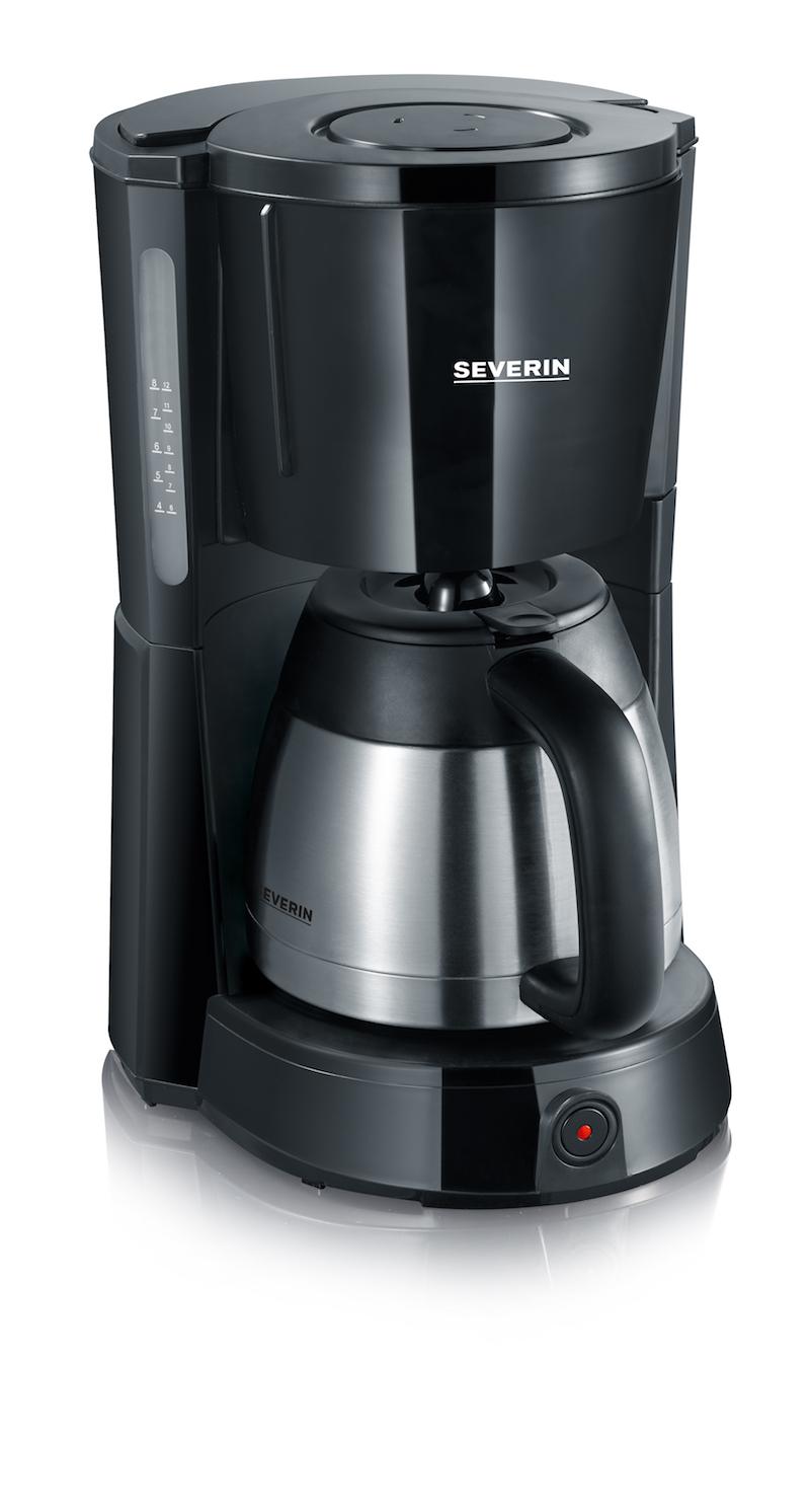 Coffee Maker Timer : KA 4460 SEVERIN Coffee Maker with Timer
